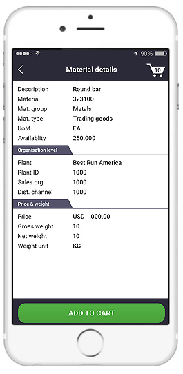 sap apps for sales reps