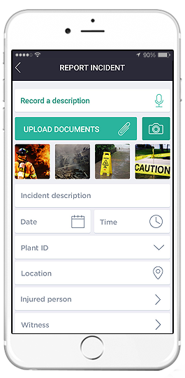 sap environmental health and safety app