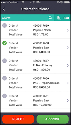 SAP Purchase Order Management App   SAP PO and PR App   SAP PO   SAP PO   Mobile PO App   SAP PO Approval