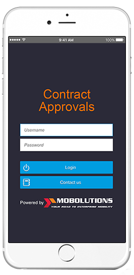sap contract approvals app