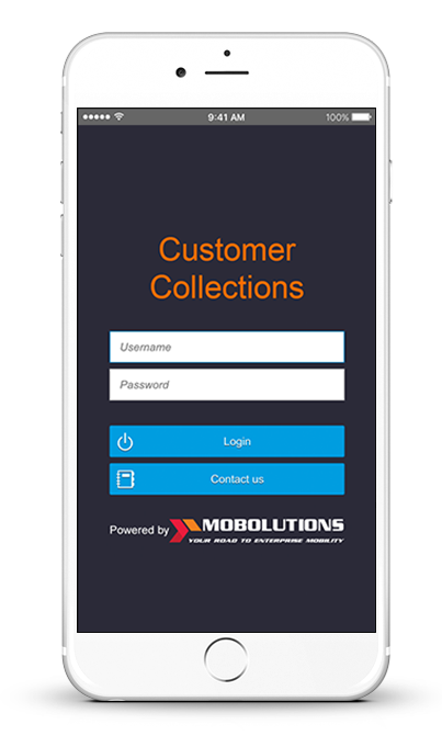 sap customer collections app