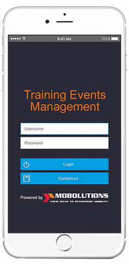 sap training events management app