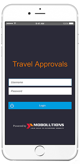 sap travel approval app