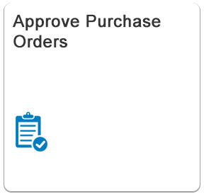 Approve Purchase Orders - Fiori App