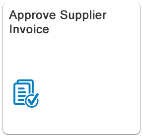 Approve Supplier Invoice - Fiori App