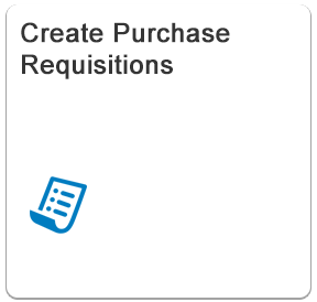 Create Purchase Requisitions - Fiori App