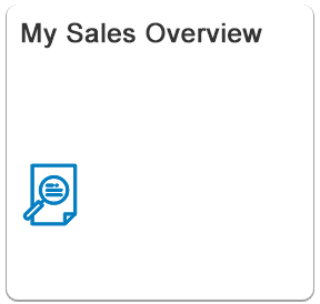 My Sales Overview - Fiori App