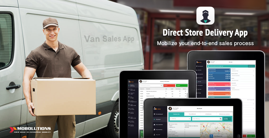 Van Sales App for Direct Store Delivery