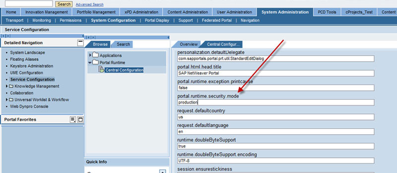 SAP Enterprise Portal with Fiori Integration