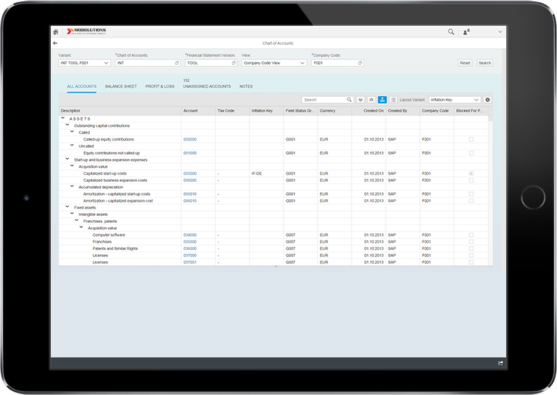 Fiori Display Chart of Accounts App | FICO SAP