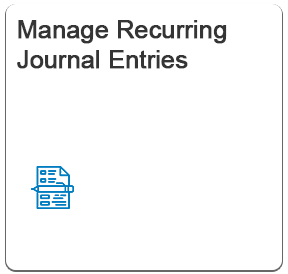 SAP Fiori Manage Recurring Journal Entries App | SAP FICO