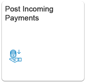SAP Fiori Post Incoming Payments App | SAP FICO