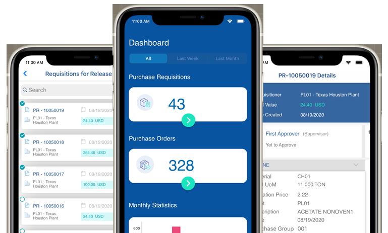 Responsive-Mobile PO PR App