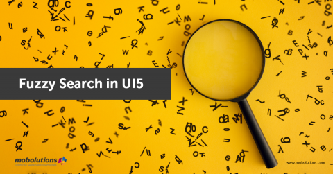 Fuzzy Search in UI5