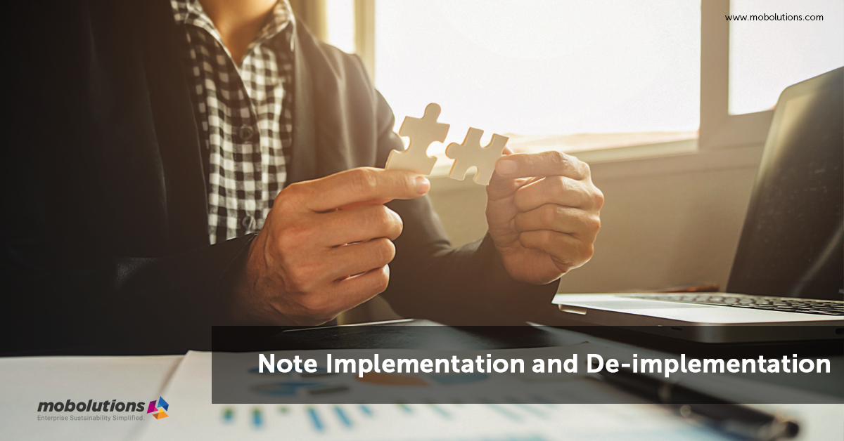 Note implementation